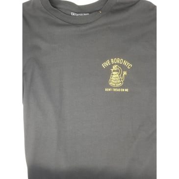 5BORO DON'T TREAD TEE- BLACK