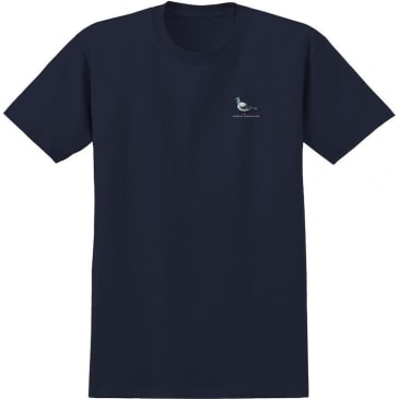 Anti Hero Skateboards Lil Pigeon T-Shirt Navy