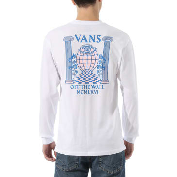Vans Pillars LS - White
