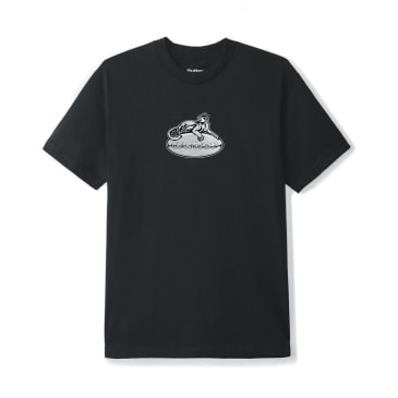 Butter Goods Cougar Badge Logo T-Shirt - Black