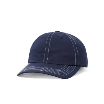 Butter Goods Summit 6 Panel Cap - Navy