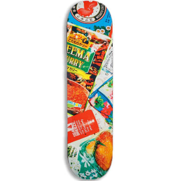 Numbers Mariano Edition 6 Series 2 Skateboard Deck - 8.125""