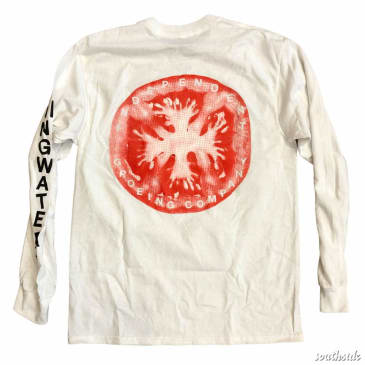 Stingwater Longsleeve Tee Independent Groeing Co. White