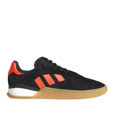 adidas Skateboarding 3ST.004 Shoes - Core Black / Solar Red / FTWR White