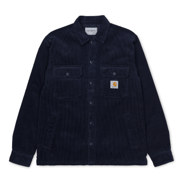 Carhartt WIP Whitsome Shirt Jacket - Dark Navy