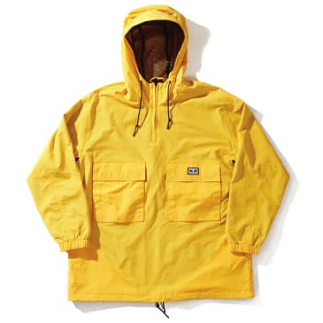 Obey Inlet Anorak - Energy Yellow