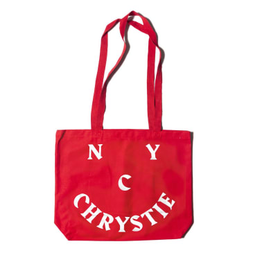Chrystie NYC - Chrystie Smile Logo Totebags