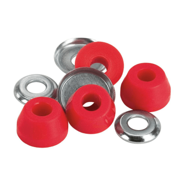 Independent - 90A Standard Soft Bushings (Conical) - Red
