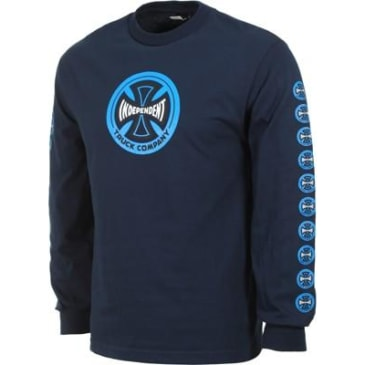 Independent Hollow Cross L/S Navy