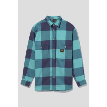 Stan Ray - Flannel Shirt (Indian Green Check)