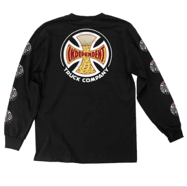 Independent - Suds Long Sleeve Shirt (Black)