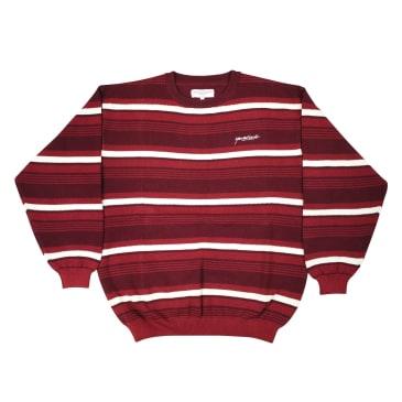 Yardsale - Mirage Crewneck Sweatshirt - Burgundy