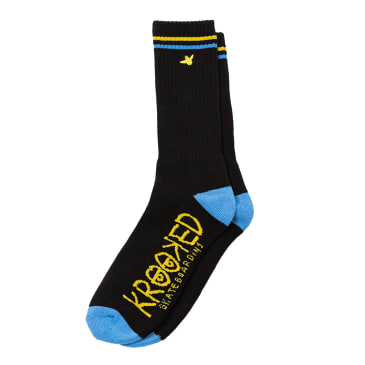 Krooked Skateboards Bird Socks