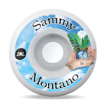 "Sml Wheels Sammy Montano ""Tide Pool"" Wheels 54mm"