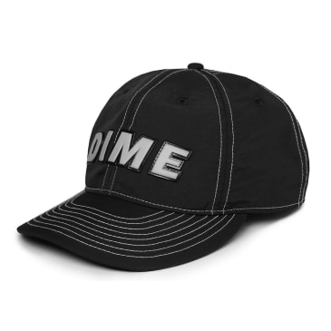 Dime Contrast Nylon Hat Black