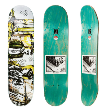 Polar Skate Co Paul Grund Le Medusa Colour Skateboard Deck - 8.125""