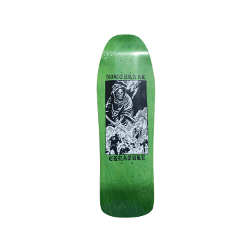 Creature x Nocturnal Pool Shape Skateboard Deck - 10""