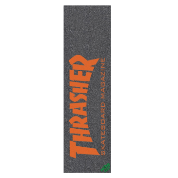 Mob Thrasher Magazine Black / Red Skateboard Griptape - 9""