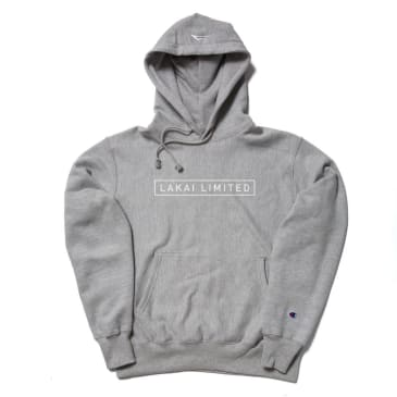 LAKAI CHAMPION TEXT BOX PULLOVER - GREY