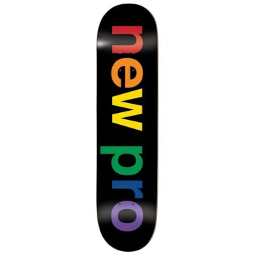 Enjoi New Pro Resin Hybrid Black Skateboard Deck - 8.5