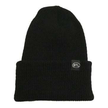 Blue Tile Lounge Beanie Country Code Black