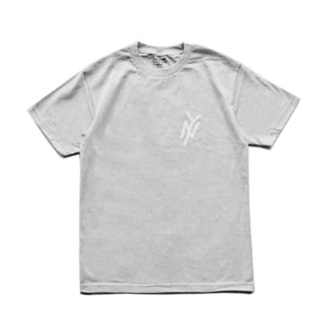 5Boro NY Monogram T-Shirt - Heather Grey
