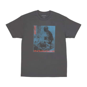 GX1000 Live at the Avalon Ballroom T-Shirt - Charcoal