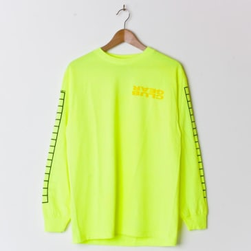 Clubgear Grid Longsleeve Toxic Green/Yellow