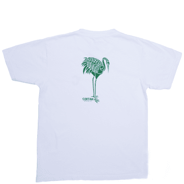 Cortina Bearing Co Crane T-Shirt - White