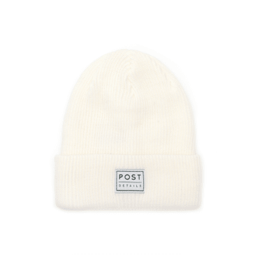 Post Details - Classic Beanie - Snow White