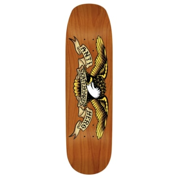 Anti Hero Skateboards Eagle Overspray Orange Crusher Deck 9.1