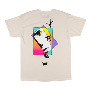 Welcome Skateboards Faces T-Shirt - Bone