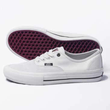 Sour X Vans Authentic Pro Skateboard Shoe - Marshmallow/Red