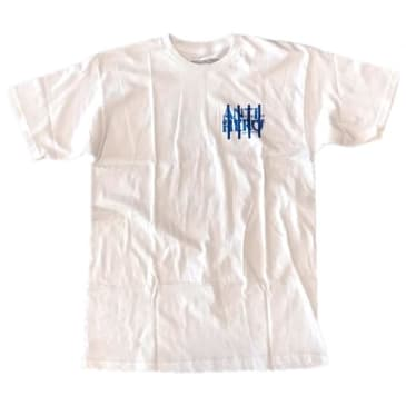 Antihero 4 Pillars White Collar T-Shirt