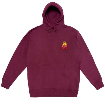 Call Me 917 Hot Dice Pullover Hoodie - Maroon