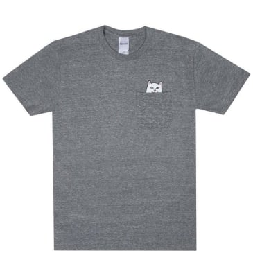 Ripndip Lord Nermal Pocket T-Shirt - Grey