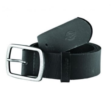Dickies - Eagle Lake Leather Belt - Black