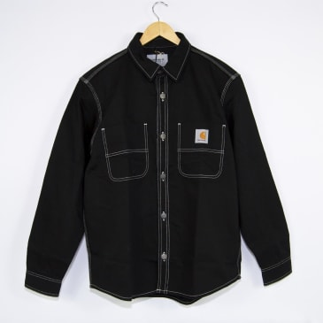 Carhartt WIP - Chalk Shirt Jacket - Black (Rigid)