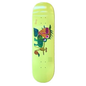 "Frog ""My Painting"" Skateboard Deck 8.6"""