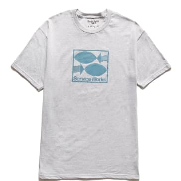 Service Works Turbot T-Shirt - Heather Grey