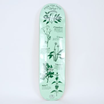 """The Drawing Boards - 8.5"""" Food for Free (Spring) Skateboard Deck"""