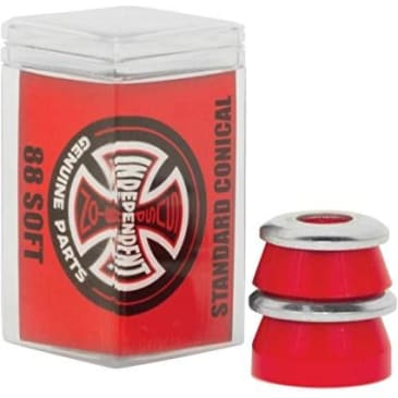 Independent - STD Conical Bushings 88a RED (Soft)