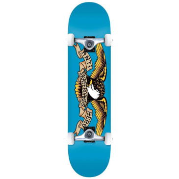 Anti Hero Classic Eagle Blue Complete Skateboard - 7.5""