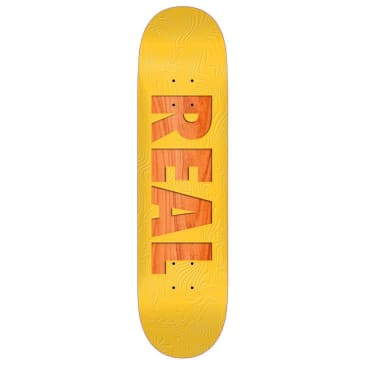 """Real Skateboards - Bold Series Deck 8.06"""" Wide"""