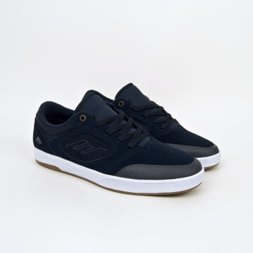 Emerica - Dissent (Spanky) Shoes - Navy / White