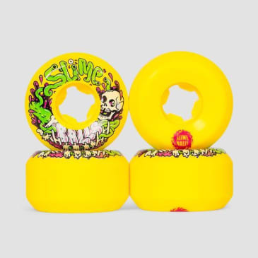 Slime Balls Guts Speed Balls 99a 53mm Yellow