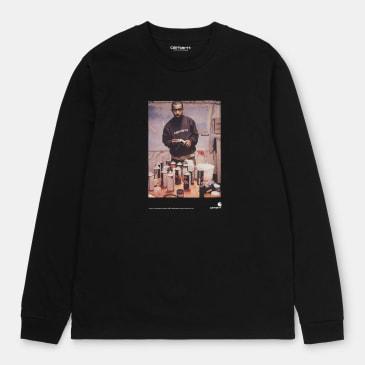 Carhartt WIP 1988 Ad Jay One Long Sleeve T-shirt - Black