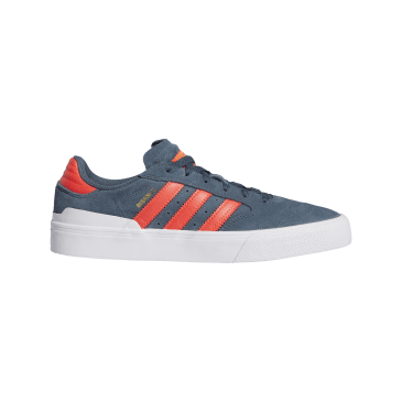 Adidas Busenitz Vulc II Skateboarding Shoes - Legacy Blue/Solar Red/Cloud White