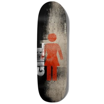 "Girl Skateboards - Simon Bannerot Roller OG Couch Deck 9.25"" Wide."