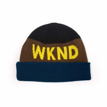 WKND Collision Watchcap Beanie - Black